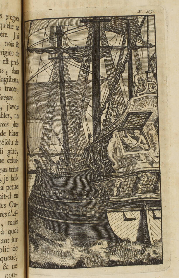 Thomas MORE - Idée d une république heureuse, ou l utopie - 1730 - Gravures - Photo 3, livre ancien du XVIIIe siècle