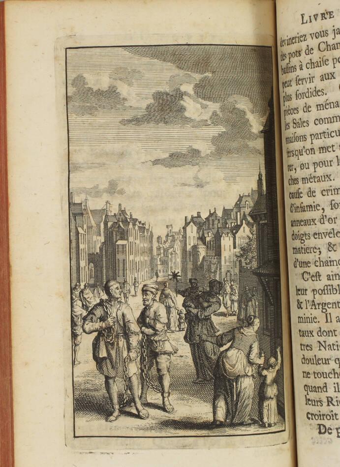 Thomas MORE - Idée d une république heureuse, ou l utopie - 1730 - Gravures - Photo 4, livre ancien du XVIIIe siècle