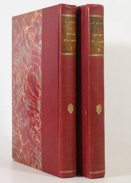 HUGO (Victor). Histoire d'un crime. Déposition d'un témoin, livre rare du XIXe siècle