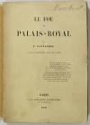 CANTAGREL (François).. Le fou du Palais-Royal