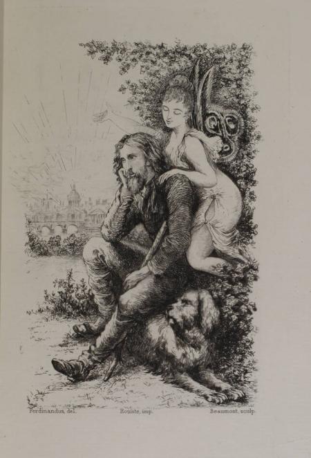CLADEL (Léon). L'amour romantique, livre rare du XIXe siècle
