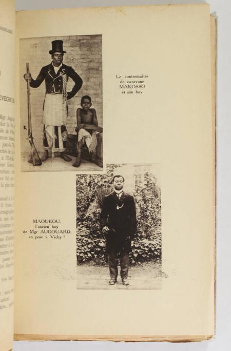 AUGOUARD (Chanoine). Guirlande enchevêtrée d'anecdotes congolaises, livre rare du XXe siècle